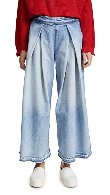 Tortoise Coryne High Waisted Culotte Jeans