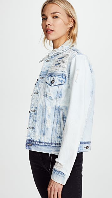 Tortoise Steppe Denim Jacket