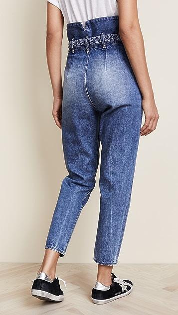 Tortoise Morenia Paperbag Jeans