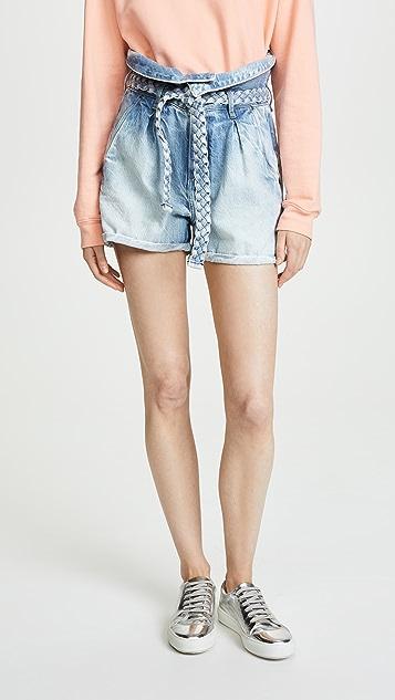 Tortoise Mauka Paperbag Shorts