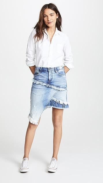 Tortoise Elseya Asymmetrical Skirt