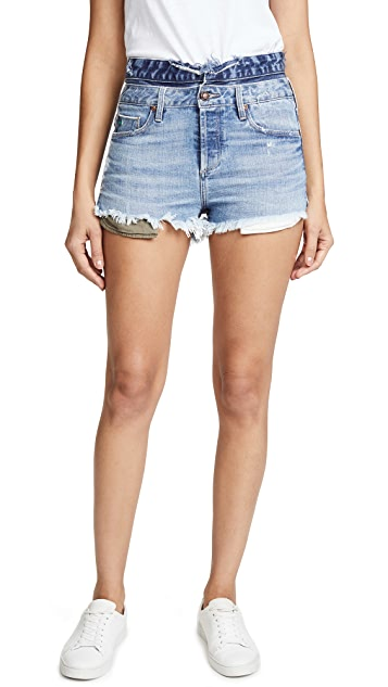 Tortoise Maya High Waisted Shorts