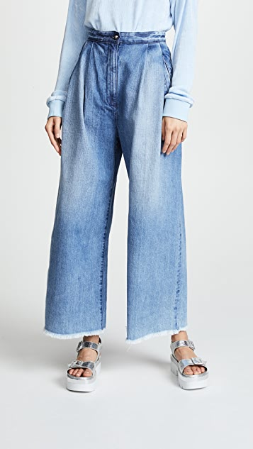 Tortoise Lucy High Waisted Baggy Trouser Jeans