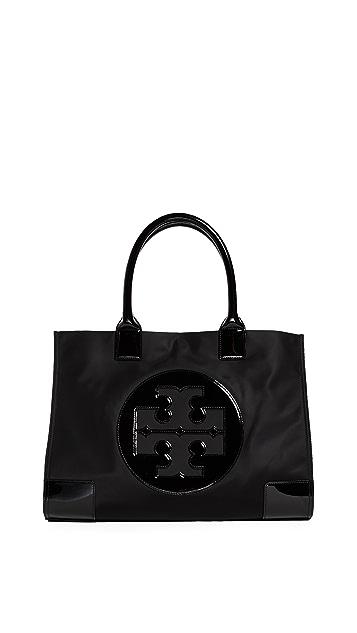 Tory Burch Нейлоновая объемная сумка Ella с короткими ручками