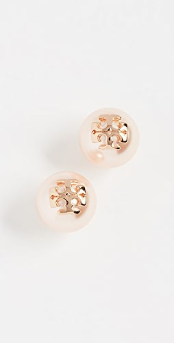 Tory Burch - Swarovski Imitation Pearl Stud Earrings
