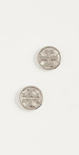 Tory Burch - Logo Circle Stud Earrings