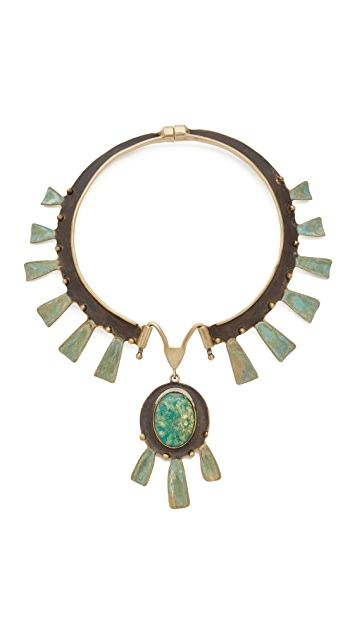 Tory burch oxidized statement collar necklace shopbop for Tory burch jewelry amazon