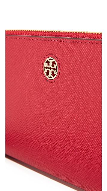 Tory Burch Perry Zip Passport Continental Wallet