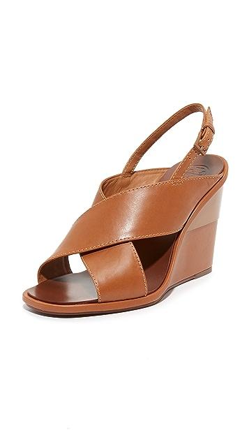 Tory Burch Gabrielle Wedge Sandals