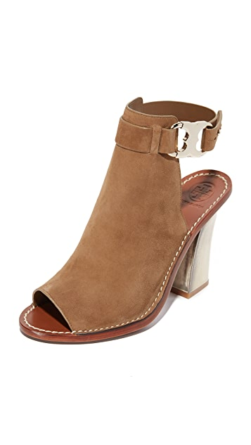 a571f6c352ad9b Tory Burch Gemini Link Peep Toe Sandals