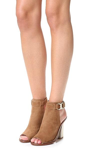52643be08ebaba ... Tory Burch Gemini Link Peep Toe Sandals ...