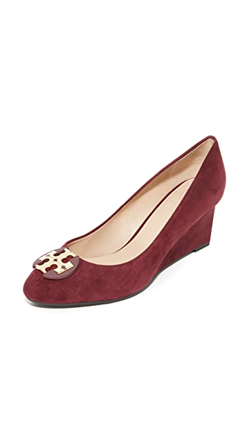 fd6fd78cd89d Tory Burch Luna Wedge Pumps