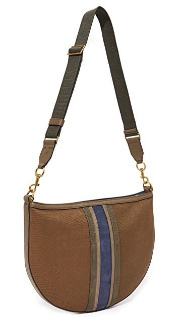 Tory Burch Semi Circle Hobo Bag