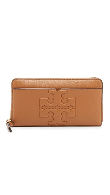 fb38264359 Tory Burch Bombe T Zip Continental Wallet | SHOPBOP