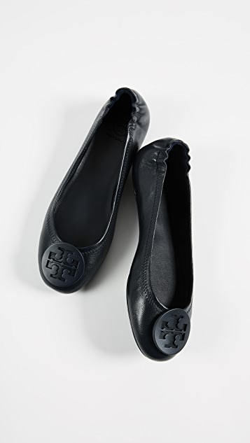 73952a1bc ... Tory Burch Minnie Travel Ballet Flats ...