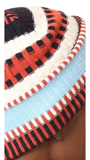 Tory Burch Nova Stripe Hat