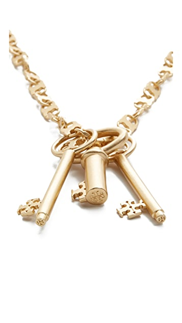 Tory Burch Key Necklace