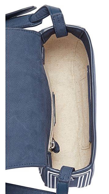 Tory Burch Tassel Mini Saddle Bag