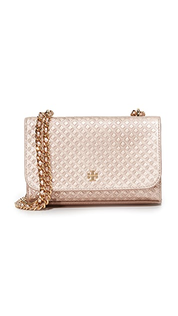 e8de29faccd9 Tory Burch Marion Shrunken Shoulder Bag ...