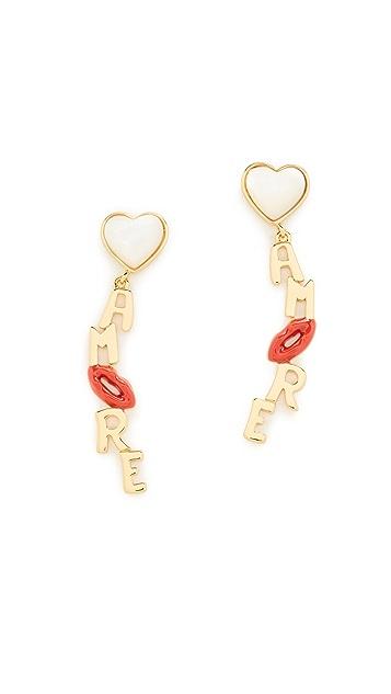 Tory Burch Amore Drop Earrings