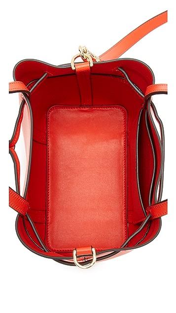 Tory Burch Block T Nano Bucket Bag