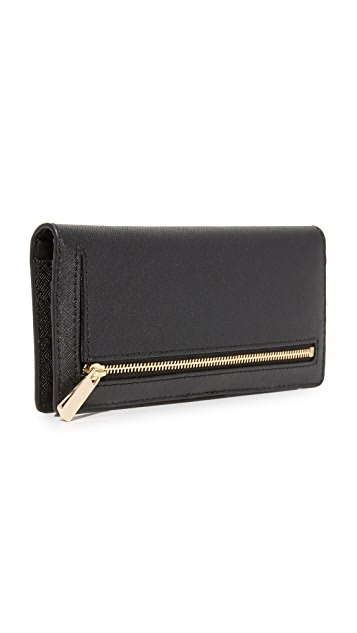Tory Burch Robinson Slim Wallet