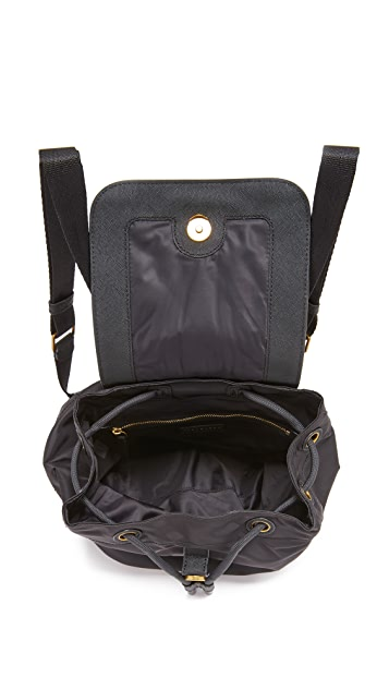 Tory Burch Scout Mini Nylon Backpack
