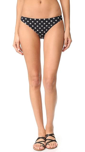 Tory Burch Fin Hipster Bikini Bottoms