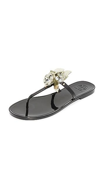 35b13af8b Tory Burch Blossom Jelly Thong Sandals