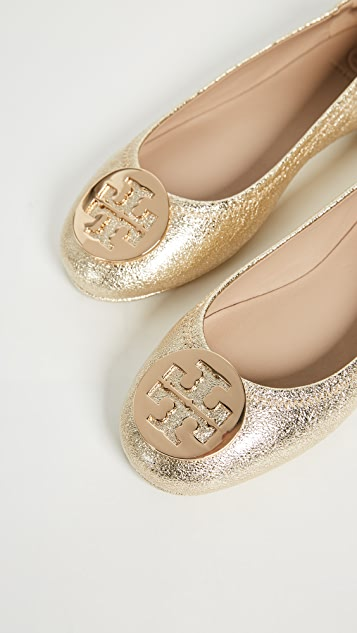cd56138e959d9 ... Tory Burch Minnie Travel Ballet Flats ...