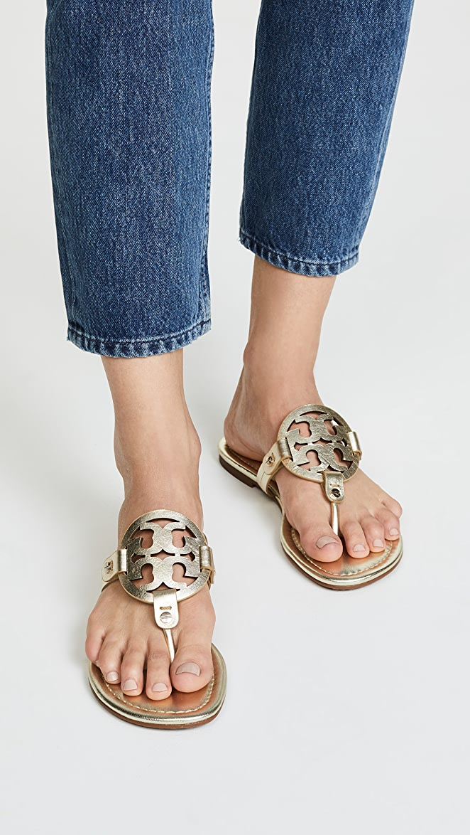 bc1f74020d64 Tory Burch Miller Thong Sandals