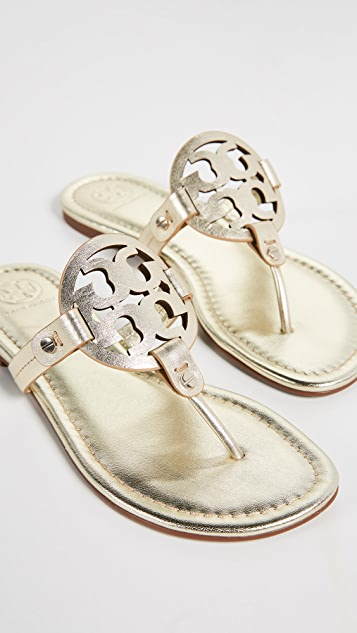 f2d3597431ef19 Tory Burch Miller Thong Sandals