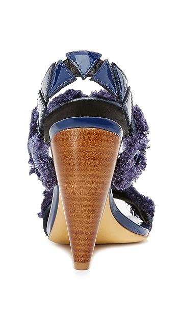 Tory Burch Freya Eyelet Sandals
