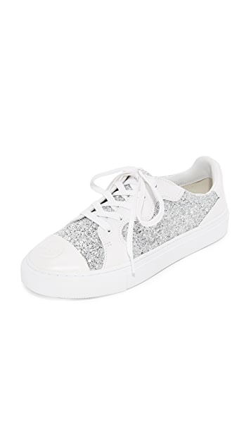 Tory Burch Milo Lace Up Sneakers ...
