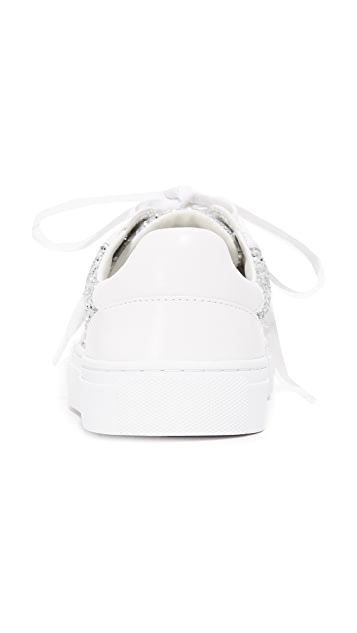 ... Tory Burch Milo Lace Up Sneakers