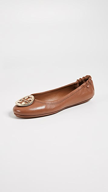 3d96e0101fb1 Tory Burch Minnie Travel Ballet Flats