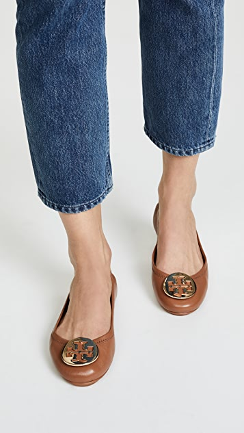 7fc0d72fa71 ... Tory Burch Minnie Travel Ballet Flats ...
