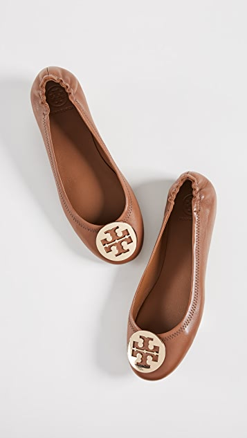1a96299cfe008 ... Tory Burch Minnie Travel Ballet Flats ...