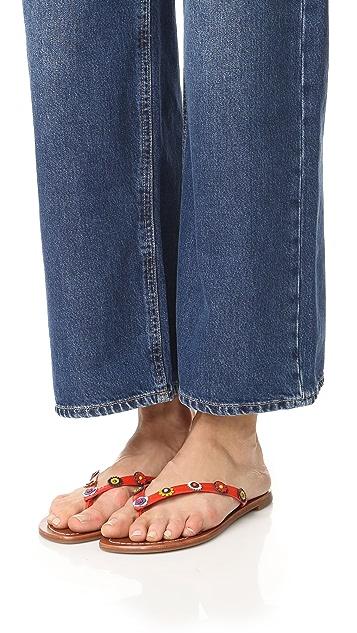Tory Burch Maguerite Thong Sandals