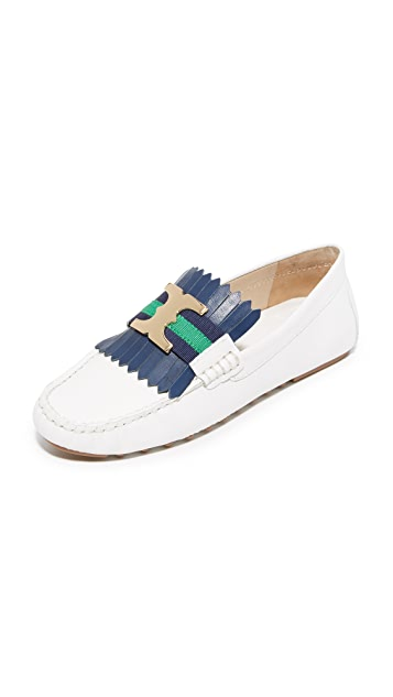 cheap price factory outlet Tory Burch Gemini Link Driver Loafers cheap professional outlet comfortable bOSIL