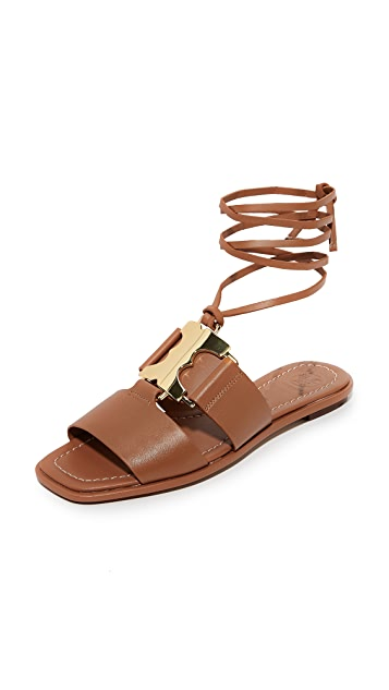 9c2846b60f2 Tory Burch Gemini Link Lace Up Sandals