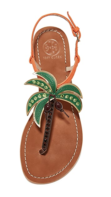 Tory Burch Castaway Flat Sandals
