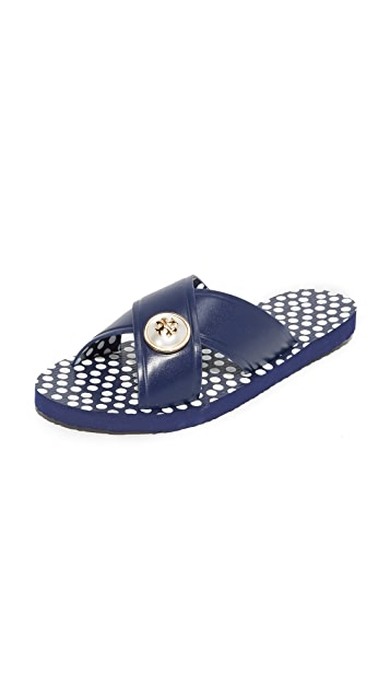 20921d735c57 Tory Burch Melody Criss Cross Sandals