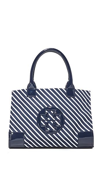232cf179117c Tory Burch Nylon Mini Ella Stripe Tote ...