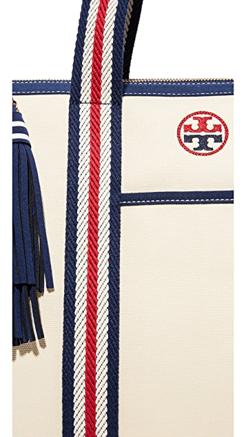 Tory Burch Preppy Canvas NS Tote