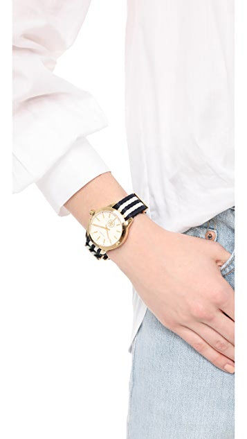 Tory Burch The Collins Grosgrain Watch