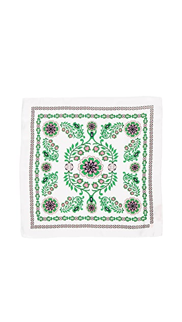 Tory Burch Garden Party Scarf