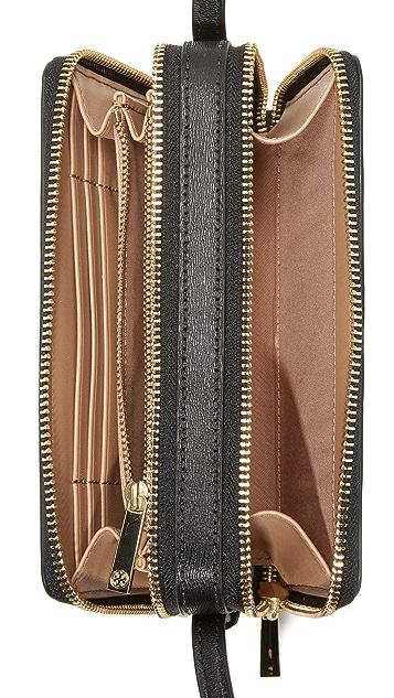 Tory Burch Parker Double Zip Mini Bag