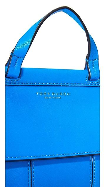 Tory Burch Block T Mini Top Handle Satchel