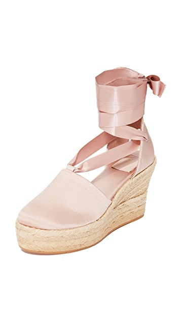 Tory Burch Elisa 90mm Wedge Espadrilles